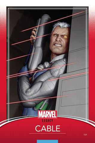 "Cable (2017 Series) #154 (Variant ""Trading Card"" Cover - John Tyler Christopher)"