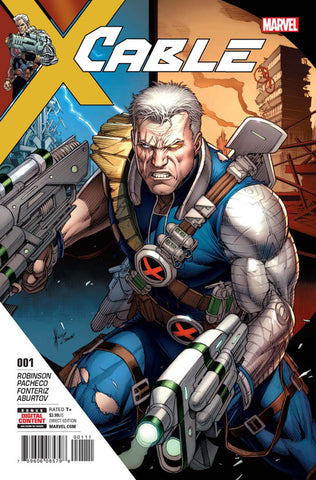 Cable (2017 Series) #1 (Regular Cover - Dale Keown)