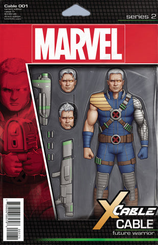 "Cable (2017 Series) #1 (Variant ""Action Figure"" Cover - John Tyler Christopher)"