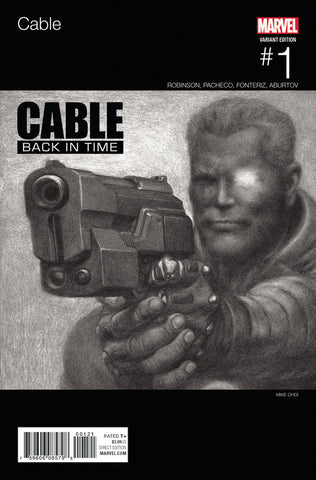 "Cable (2017 Series) #1 (Variant ""Hip-Hop"" Cover - Mike Choi)"