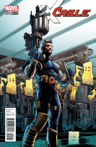 "Cable (2017 Series) #1 (Variant Incentive ""Artist"" Cover - Whilce Portacio)"