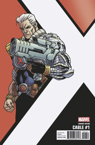 "Cable (2017 Series) #1 (Variant Incentive ""Corner Box"" Cover - Leonard Kirk)"