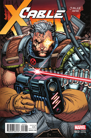 "Cable (2017 Series) #3 (Variant ""X-Men Card"" Cover - Jim Lee)"