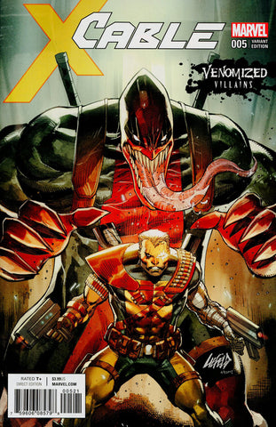 "Cable (2017 Series) #5 (Variant ""Venomized Villains"" Cover - Rob Liefeld)"