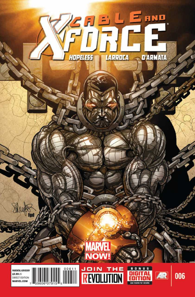 Cable and X-Force (2012 Series) #6 (Regular Cover - Salvador Larroca)