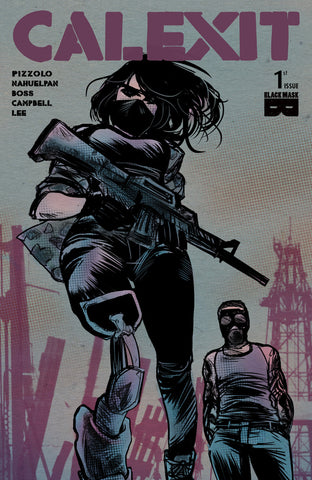 Calexit (2017 Series) #1 (Variant 2nd Printing Cover - Soo Lee)