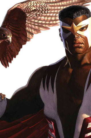 "Captain America (2018 series) #24 (Variant ""Timeless"" The Falcon Virgin Art Cover - Alex Ross)"