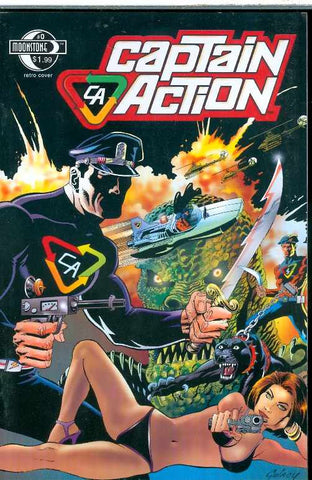 "Captain Action (2008 Series) #0 (Regular ""A"" Retro Cover - Paul Gulacy)"