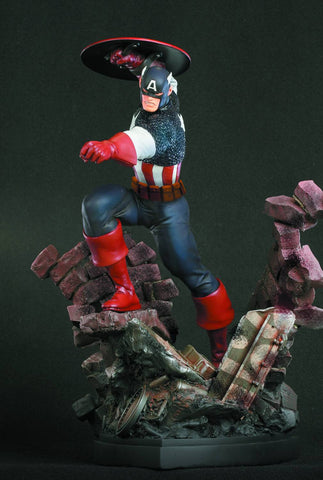 Avengers:  Captain America Full-Size Statue (Action Version)