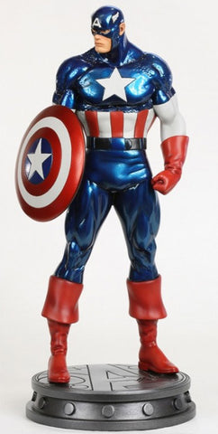 Avengers:  Captain America Full-Size Statue (Avengers Metallic Version) (Bowen Designs Web Exclusive)