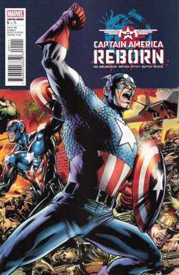 Captain America: Reborn (2009 Mini-Series) #1 (Regular Cover - Bryan Hitch)