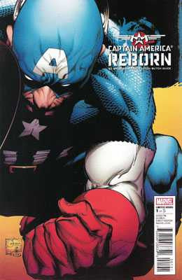 Captain America: Reborn (2009 Mini-Series) #1 (Regular Cover - Joe Quesada)