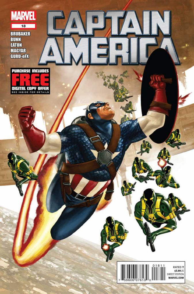 Captain America (2011 Series) #18