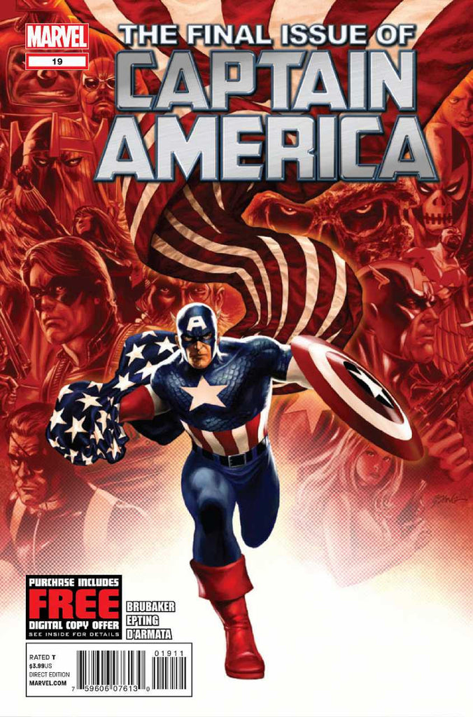 Captain America (2011 Series) #19