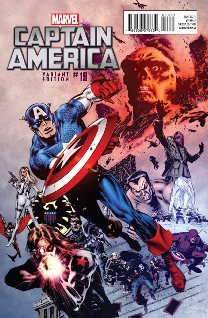 "Captain America (2011 Series) #19 (Variant ""Final Issue"" Cover - Butch Guice)"
