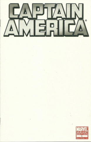 Captain America (2011 Series) #1 (Variant Cover - Blank)