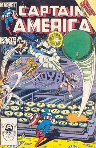 Captain America (1968 Series) #314