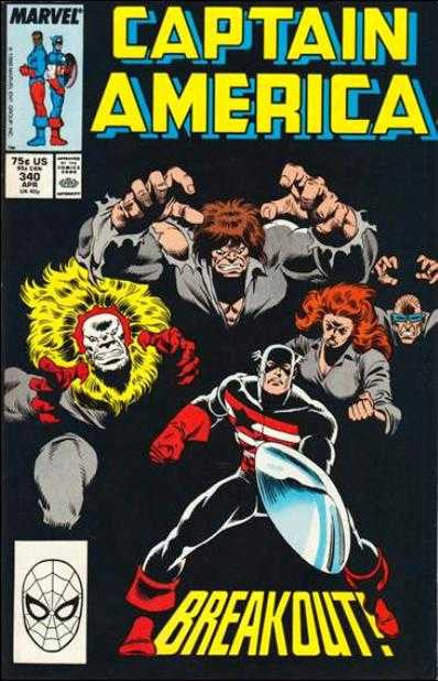 Captain America (1968 Series) #340