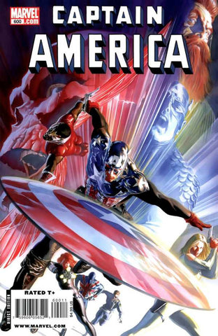 Captain America (2004 Series) #600