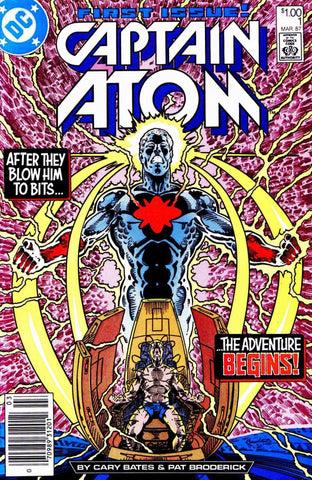 Captain Atom (1987 Series) #1