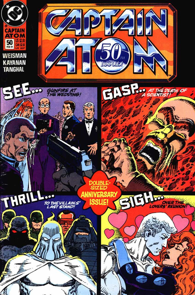 Captain Atom (1987 Series) #50