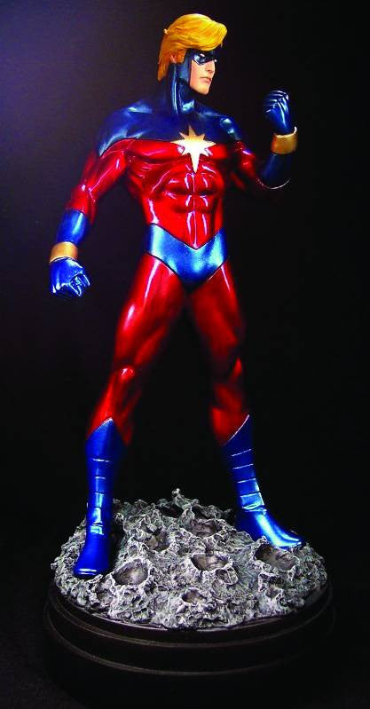 Captain Marvel Full-Size Statue (1970's Version)