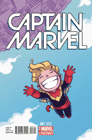"Captain Marvel (2014 Series) #1 (Variant ""Baby"" Cover - Skottie Young)"
