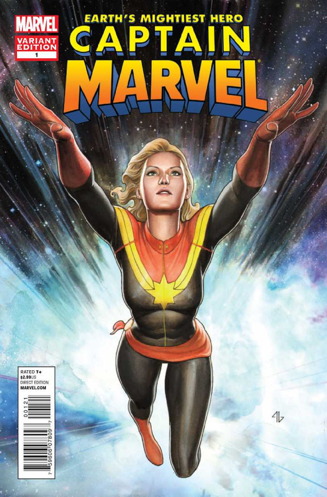Captain Marvel (2012 Series) #1 (Variant Incentive Cover - Adi Granov)