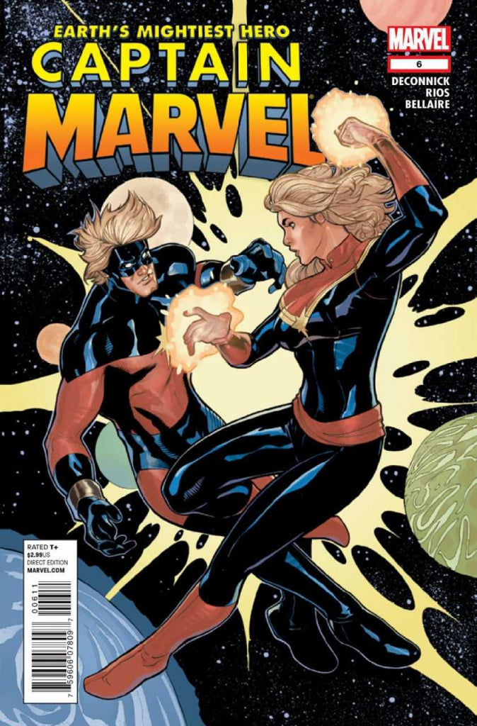 Captain Marvel (2012 Series) #6