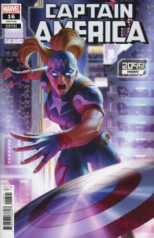 "Captain America (2018 series) #16 (Variant ""2099"" Cover - Jung-Geun Yoon)"