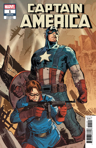 Captain America (2018 series) #1 (Variant Cover - Ron Garney)