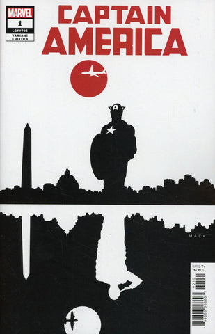 "Captain America (2018 series) #1 (Variant Incentive ""Artist"" Cover - David Mack)"