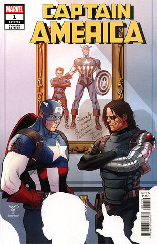 Captain America (2018 series) #1 (Variant Cover - Paul Renaud)