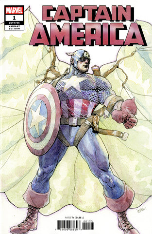 Captain America (2018 series) #1 (Variant Cover - Leinil Francis Yu)