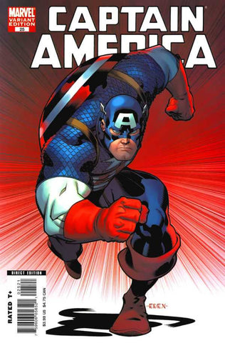 Captain America (2004 Series) #25 (Variant Cover - Ed McGuinness)