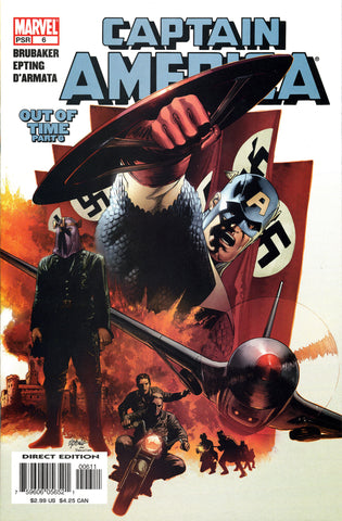 "Captain America (2004 Series) #6 (Regular ""Captain America"" Cover - Steve Epting)"