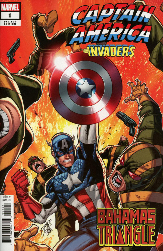 "Captain America and the Invaders (2019 one-shot) #1 (Variant ""Artist"" Cover - Ron Lim)"