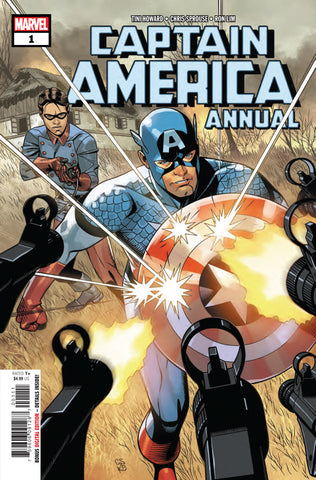 Captain America (2018 series) Annual #1 (2018) (Regular Cover - Chris Sprouse)
