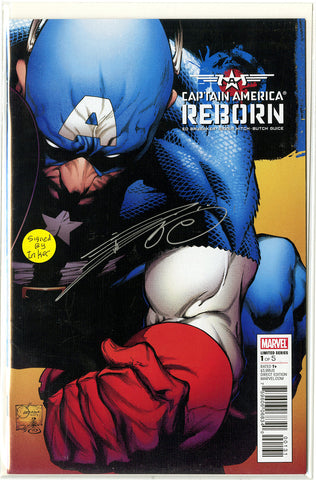Captain America: Reborn (2009 Mini-Series) #1 (Regular Signed Cover - Joe Quesada)