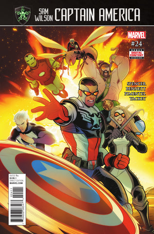 Captain America; Sam Wilson (2015 Series) #24