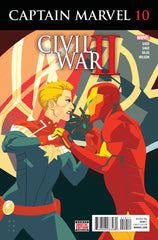 Captain Marvel (2016 series) #06-10 [SET] — Volume 02: Civil War II