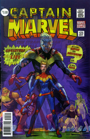 "Captain Marvel (2017 Series) #166 (Variant ""3-D"" Lenticular Homage Cover - Dan Mora)"