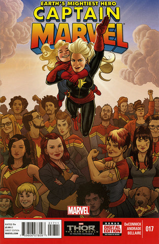 Captain Marvel (2012 Series) #17
