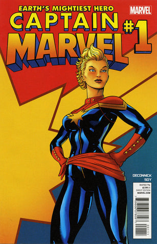Captain Marvel (2012 Series) #1