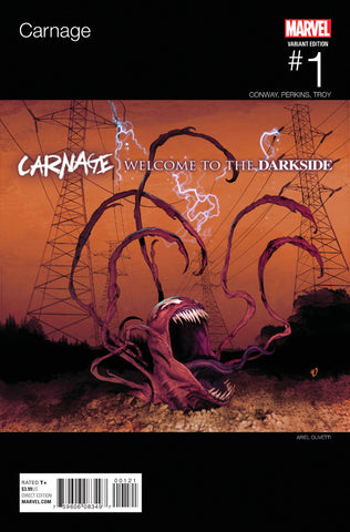 "Carnage (2015 Series) #1 (Variant ""Hip-Hop"" Cover - Ariel Olivetti)"