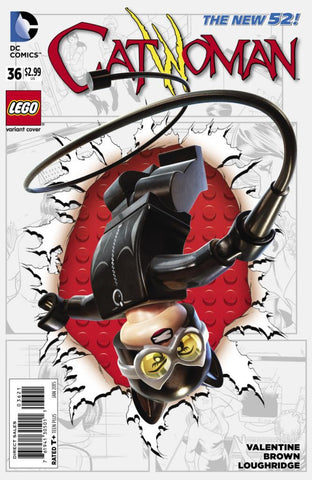 Catwoman (2011 Series) #36 (Variant Cover - LEGO)