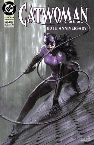 "Catwoman 80th Anniversary 100 page Super Spectacular (2020 one-shot) #1 (Variant ""1990's"" Cover - Stanley ""Artgerm"" Lau)"