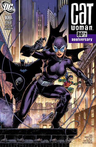 "Catwoman 80th Anniversary 100 page Super Spectacular (2020 one-shot) #1 (Variant ""2000's"" Cover - Jim Lee)"