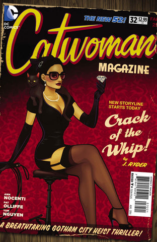 "Catwoman (2011 Series) #32 (Variant ""Bombshells"" Cover - Ant Lucia)"