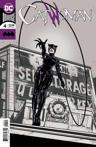 Catwoman (2018 Series) #4 (Regular Foil Cover - Joëlle Jones)